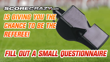 Help Score Crazy Score a Hat Trick, fill out this quick questionnaire